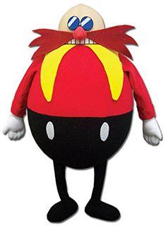 "Great Eastern GE-52632 Sonic the Hedgehog 14"" Dr. Eggman Plush Great Eastern http://smile.amazon.com/dp/B00T3N4NHQ/ref=cm_sw_r_pi_dp_Yjqzvb19G4CPN"