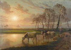 """Felix Planquette - """"la Mare De Huisnes""""."""