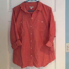 Old Navy new with tags shirt size large Old Navy button down top new with tags ladies Old Navy Tops