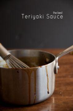 homemade teriyaki sauce via @Susan Caron Caron Caron Caron Salzman(The Urban Baker)