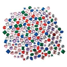 Self-Adhesive Jewels $8.50 500 Pieces (You would not believe how popular rhinestones are, even with tweenage boys--everybody loves sparkly!)