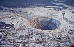 The Mirny Diamond Mine, Russia