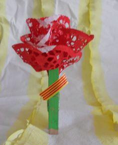 rosa Sant Jordi