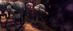 The Separatist war machine Rebel Scum, Battle Droid, War Machine, Darth Vader, Star Wars, Fictional Characters, Fantasy Characters, Starwars, Star Wars Art