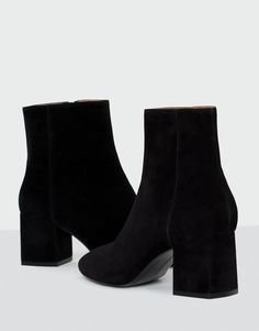Ankle boots with medium heel - See all - Shoes - Woman - PULL&BEAR Korea, South
