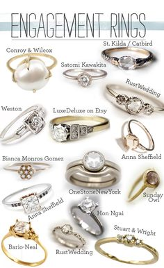 Engagement Rings!