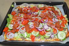 Lchf, Keto, Pizza Snacks, Danish Food, Big Mac, Dessert Recipes, Desserts, Cilantro, Vegetable Pizza