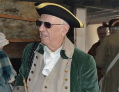 City Historian Richard Platt, dressed for a recent event, pushes for changes to the city's demolition ordinance | #historicpreservation #ordinances #laws #cities #historian #connecticut #milford