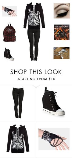 """""""Pandora's Outfit"""" by his-babygirl26 ❤ liked on Polyvore featuring DKNY, Abbey Dawn, women's clothing, women, female, woman, misses and juniors"""