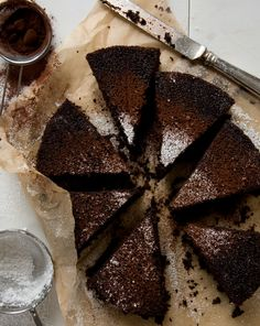 foodandwinephotos: Chocolate Cake Recipe  ♥