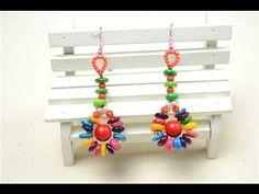 Beach Jewelry Tutorial: DIY Hawaiian Style Earrings with Shell Beads