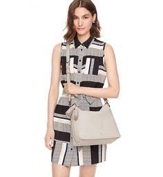 Kate Spade Orchard Street Small Natalya Bag Crisp Linen. #outfitideas #summer