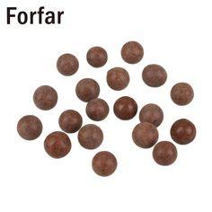 100PCS/Bag Slingshot Beads Bearing Drawing-board Clay Mud Beads Mud Eggs Airsoft SlingshotOutdoor Hunting Tool