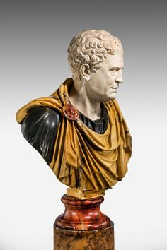 Bust of a Roman Popularis Politician Tiberius Gracchus