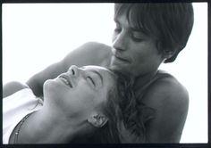 Romy Schneider & Alain Delon. <3