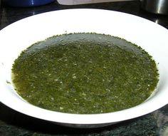 Molokhiya, delicious!