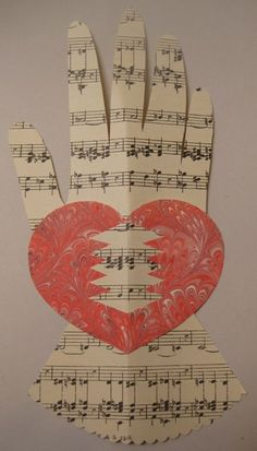 Woven Heart and Hand Valentine Tutorial.