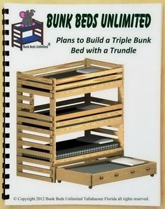 Triple Trundle Bunk Beds   ... this bunk bed plan not the bunk bed furniture can be made for up to