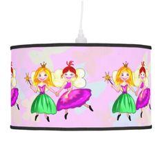 Best friends Princess fairies Hanging Lamp