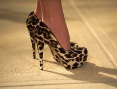 sexy cheetah shoes