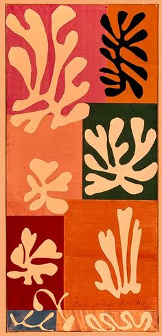 Matisse, the paper cut-out master