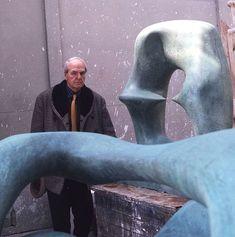 Retrato Henry Moore