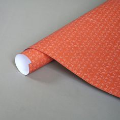 ROMA papaya wrapping paper by ARBOREALpaper on Etsy