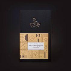 Káva @bowlencoffee v dizajnovom balení   dizajn: @malinadesignstudio tlač: @vach.print  ražba: @priklerprintatelier Convenience Store, Convinience Store