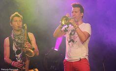Koncert Enej Bełżyce, 14.07.2013r  #enej #dlugi #lukasz #grzesiek #live #music #photography #pic #photo #concert #muzyka #koncert #czerwonespodnie #saksofon