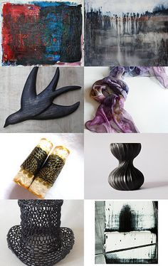 Welcome to the black and white world by Vicky on Etsy--Pinned with TreasuryPin.com
