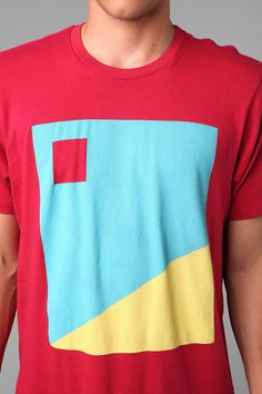 Junk Food Blocked Square Tee  #UrbanOutfitters