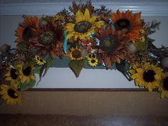 sunflower swag