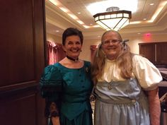 President Sheila Shea with at the Great Lakes Region Banquet/Halloween Party.