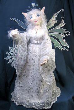 The Fairies' Nest - Cloth Dolls and Fiber Fantasies