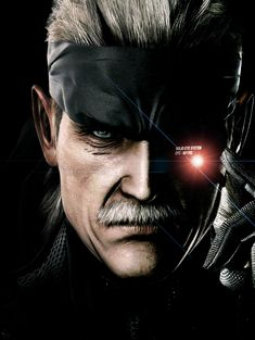 Old Snake and the Solid Eye, MGS4