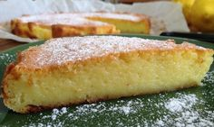Lemon Recipes, Sweets Recipes, Greek Recipes, Cooking Recipes, Dessert Party, Party Desserts, Greek Sweets, Greek Desserts, Food Network Recipes