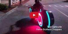 Electric Tron Lightcycle