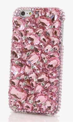 Pink stones design bling case made for iphone gift this crystal bling phone case Sparkly Phone Cases, Glitter Iphone 6 Case, Girly Phone Cases, Diy Phone Case, Bff Cases, Iphone 7, Iphone 6 Cases, Phone Covers, Calcomanía Macbook