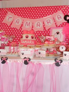 Photo 3 of 13: Minnie Mouse / Birthday Party minnie | Catch My Party