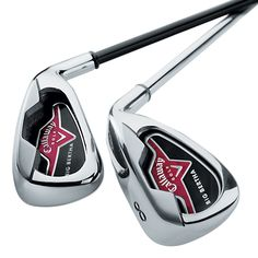 Callaway Golf Big Bertha Irons (2006): For the player looking for a solid game improvement iron that… #preownedgolfclubs #callawaypreowned