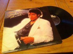 Michael Jackson Thriller Vinyl LP - http://www.michael-jackson-memorabilia.co.uk/?p=12975