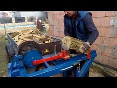 (7) Štípačka na dřevo, domácí výroba - YouTube Make It Yourself, Youtube, Youtubers, Youtube Movies