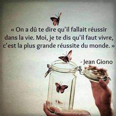 Vivre - Jean Giono
