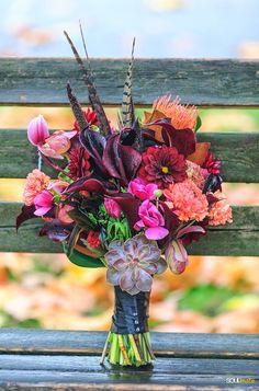 Bridal Bouquet - 02 ( Dushan Flowers Halloween Bouquet )