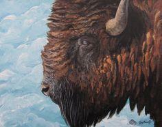 Small 8X10 Lustre Art Print Buffalo Sky by CiaraBarsotti on Etsy