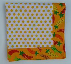 Cheryl Lynch Quilts: Self Binding Napkins, OLE