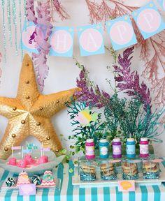 "Mermaid / Birthday ""Mermaid Under the Sea Party""   Catch My Party"