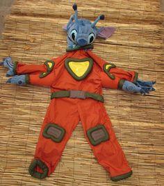 Disney Store Lilo And Stitch Alien Experiment 626 Costume Full Body Kids XS 4 5 #Disney #OnePiece