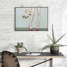 Paper Collective Bambi & Heels - 70 x 50 cm Bambi, Oslo, Impression Offset, Eco Label, Magnetic Frames, Nordic Home, Label Paper, Home Decor Online, Closets