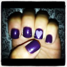 Shellac manicure by Tiffany at the Wild Hair